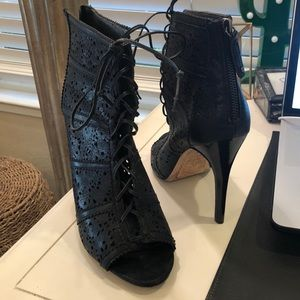 Alice & Olivia 'Gale' Lace-Up Booties